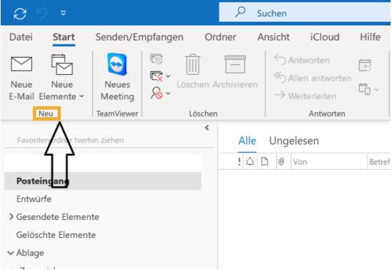 Wie Man Eine Outlook E Mail Vorlage Erstellen 1